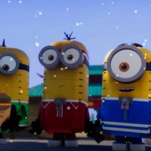 the lego minions now have their first brick built animation