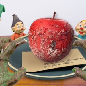 Lina Tik got POISONED !! Eating 7 Dwarfs with the Poisoned Apple - ASMR Mukbang Food/Fairy Tails