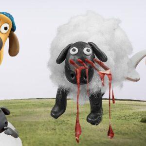 Shaun the Sheep: Lina Tik eating JUICY Grilled Lamb Chops - ASMR Mukbang food sounds in real life