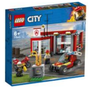 a new lego city fire station starter set has been revealed