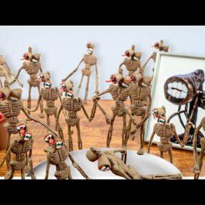 Among Us but DESTROY 100 SIREN HEAD For Dinner   Mukbang animation