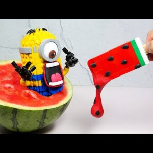 Best of Lego in Real life #3  - Stop Motion Cooking & ASMR 4k