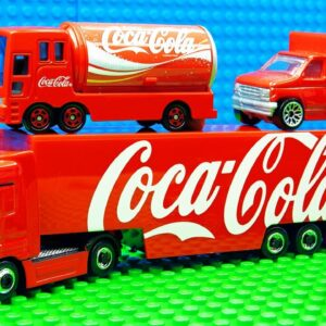 Big Coca Cola Food Container Trucks