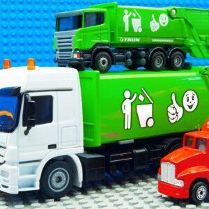 Big Road Roller Skid Steer Loader Maxi Mini Garbage Truck