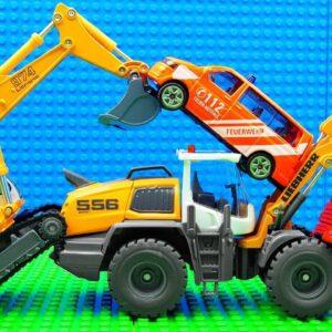 Bobcat Grader Big Reach Truck Street Roller Scooptram