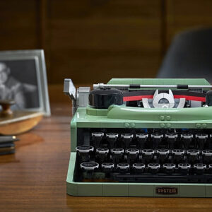 brick breakdown lego ideas typewriter