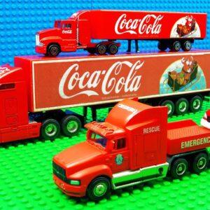 Coca Cola Transporter Trucks Giant Pit Racing