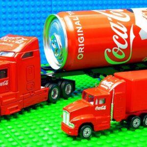Coco Coca Cola Big Transporter Super Trucks Pickup Racing