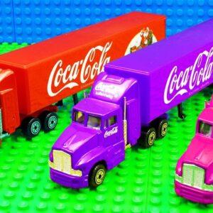 Coco Cola Color Trucks Super Pickup SUV Race Car Racing
