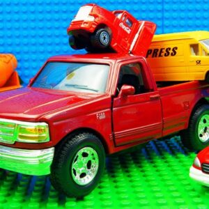 Coco Cola Pickup Transporter Ambulance Tow Truck Racing City