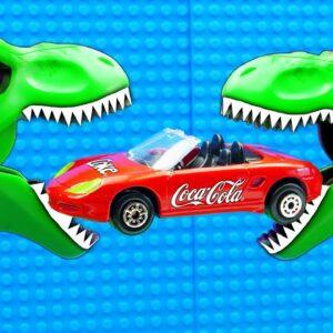 Dino Coca Cola Porsche Cabriolet Supercar