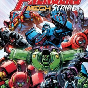 do the lego marvel mech armours tie into an ongoing comic series