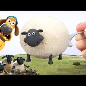 Have breakfast with sheep | Eating Shirley & Timmy - Shaun the Sheep ASMR Animation