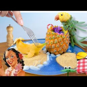 Eat animals made from fruit | Cooking ASMR