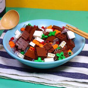 Eating Lego Beef Stew for Dinner   Stop Motion Cooking & ASMR