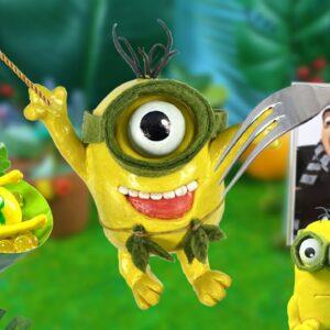 Eating Minions Tazzan (Stuart, Kevin) In Real Life | ASMR Animation Mukbang