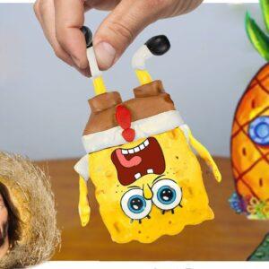 Eating Sponge Bob & Patrick Star for Dinner - Asmr Mukbang Animation