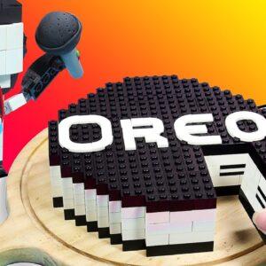 FNF LEGO TANKMAN But It's Oreo Cake - Friday Night Funkin Mukbang Animation