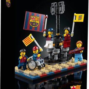 first images of lego fc barcelona celebration 40485 gwp set revealed