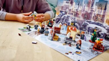 first look at lego 76390 harry potter advent calendar