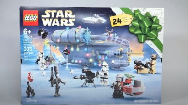 first look at lego star wars 2021 advent calendar