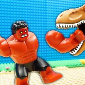 Godzilla Resort vs Green Hulk - Avengers