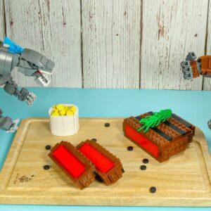 GODZILLA vs KONG in LEGO (END) - Stop Motion Animation