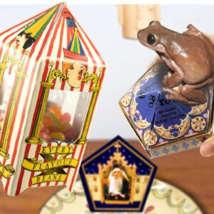 HARRY POTTER CANDIES : Eating CHOCOLATE FROG   MUKBANG ANIMATION