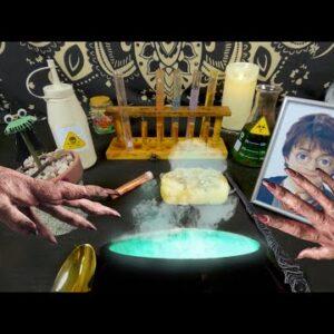 Harry Potter: The Sorcerers' Dinner | ASMR Animation sound