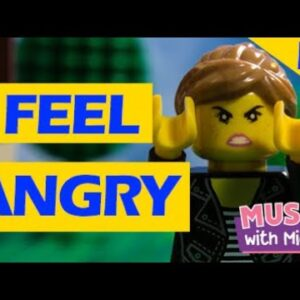 I FEEL ANGRY | A LEGO STOP MOTION MUSIC VIDEO | FEELINGS SONG | MUSIC WITH MICHAL