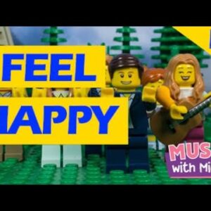 I FEEL HAPPY | A LEGO STOP MOTION MUSIC VIDEO | FEELINGS SONG | MUSIC WITH MICHAL