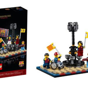 lego 40485 fc barcelona celebration gift with purchase gwp unveiled