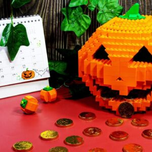 Lego Apple Candy Halloween - Lego in real life / Stop Motion Cooking & ASMR