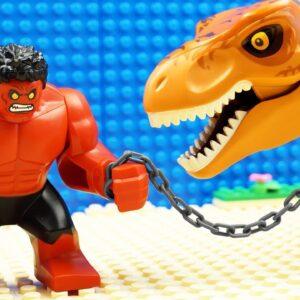 Lego City Heroes vs Godzilla Team