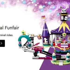 lego friends magical funfair sets overview
