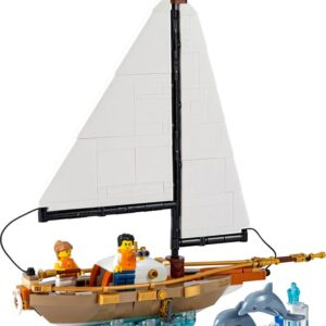 lego ideas sailboat adventure 40487 now up as a gift with purchase set