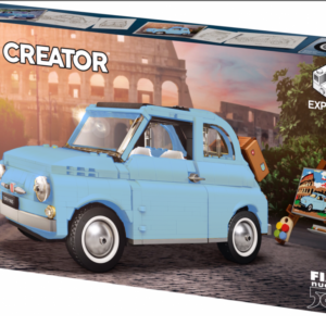 lego looks to be releasing a re coloured blue fiat 500 in 2021