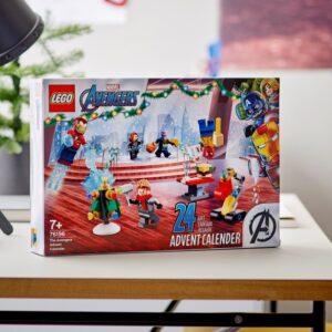 lego marvel the avengers advent calendar 76196 officially revealed