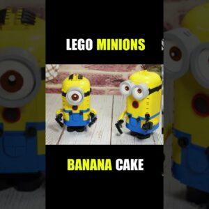 Lego Minions Banana Cake in real life #shorts