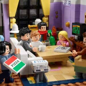 lego recreates iconic friends moments in brick format