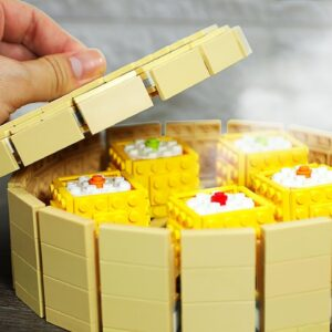 Lego SHUMAI Recipe - Lego In Real Life / Stop Motion Cooking & ASMR