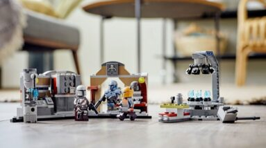lego star wars the armorers mandalorian forge 75319 now available for pre order