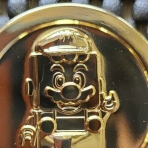 lego store employee offers super mario coin in treasure hunt