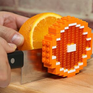 Making Lego Fruit Jelly - Lego In Real Life / Stop Motion Cooking & ASMR
