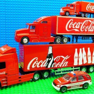 Maxi Coca Cola Mini Coca Cola Trucks Go-kart Racing