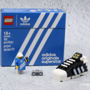 mini lego adidas superstar gift with purchase finally shows up in australia