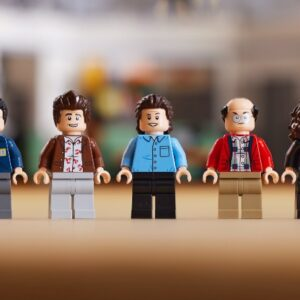 recreate the cast of lego ideas 21328 seinfeld in new event