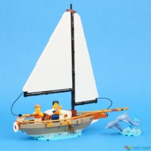 review 40487 sailboat adventure