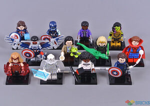 review 71031 marvel studios collectable minifigures
