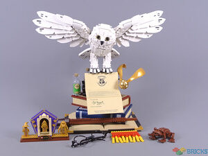 review 76391 hogwarts icons collectors edition